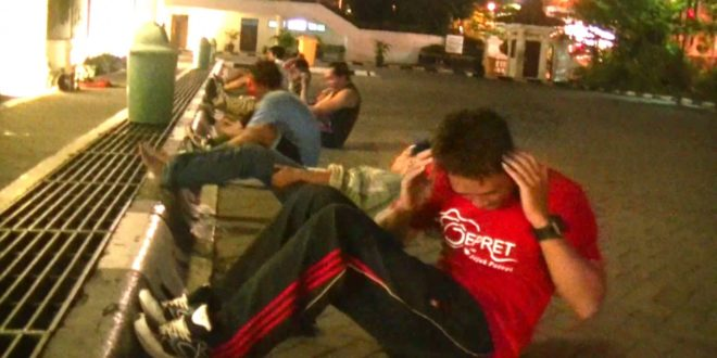 olahraga malam roodebrug soerabaia