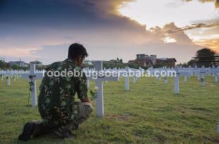 Roodebrug Soerabaia in commemoration for Bersiap Victim