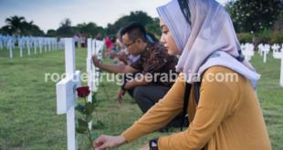 Roode brug Soerabaia initiated a commemoration Bersiap-period victim.