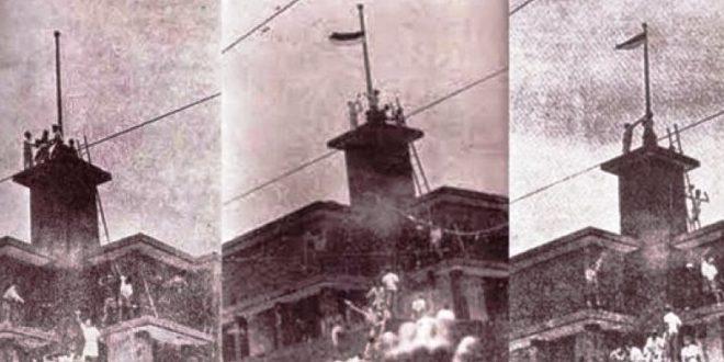 perobekan bendera merah putih surabaya