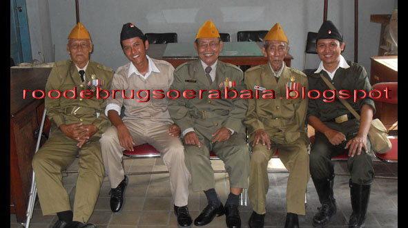 Bapak Ismoenandar, seorang Veteran Cacat Surabaya